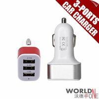 Wholesale Hgih Quanlity Ports Micro USB Car Charger Auto Universal V A V1A For iPhone iPad Tablet PC