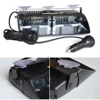 Precio de Emergency light-S2 Viper Federal Signal 16pcs LED de alta potencia de luz estroboscópica de coches Auto Advertir policía se enciende luz LED de luces de emergencia del coche 12V de la lámpara frontal coche de la luz