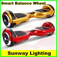 Wholesale Scooter Smart Balance Wheel Self Balancing Scooters bluetooth Two Dual Wheels Self Balancing Wheelbarrow Electric Unicycle Scooter Free Ship