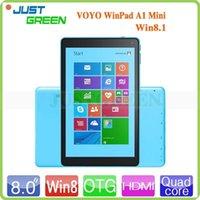 camera mini tablet pc - VOYO Winpad A1 MINI inch Windows8 Tablet PC x800 IPS Screen Intel Baytrail T Z3735 Quad Core GHz GB RAM GB ROM Dual Camera HDMI