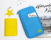 Wholesale 10 Wallet Passport Credit ID Card Travel Holder Document Case Handbag