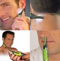 Wholesale All in One Micro Touch Max Trimmer For Nose Ear Neck Hair Mens Womens Green Brand New Good Quality