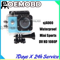 mini car camera - New DVR Dash cams Waterproof Mini Sports DV HD P MP M Camera Camcorder Car DVR Outdoor Underwater Sport Bike Helmet SJ4000 Cameras