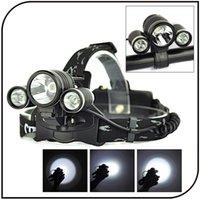 bike light lumen - 5000 Lumen Led Headlamp CREE XM L T6 LED Bicycle Bike Light Headlight Torch Rechargeable YG13 HN