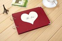 big photo album - Big size New Creative Romantic Heart photo album with hoop ocean theme super gifts dandys
