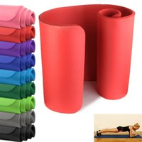 Wholesale Yoga Mat mm Thick Exercise Fitness Physio Pilates Gym Mats Non Slip Carrier