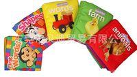 animal farm book - Baby baby cloth book English Books Farm animal shape baby toys