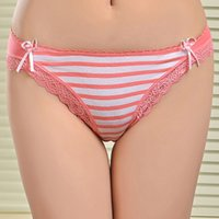 beautiful women underwear - sex young girls panties beautiful stripes panties Full size panties women underwear many colors mixed