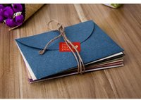 Wholesale 10pcs Creative vintage Postcard Envelop Special Color Paper Blank Letter Paper Envelops Handmade Best Prices