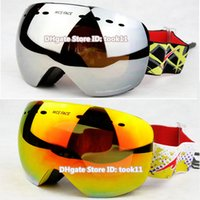 Wholesale New designer ski goggles antiparras motocross spherical snowboard glasses snow skiing snowmobile mask day night googles gafas nieve de esqui