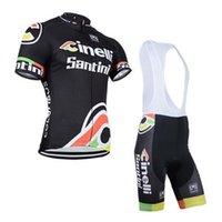 jacket team - 2015 santini team cycling jersey cinelli bike jacket and bib pants men sport clothing
