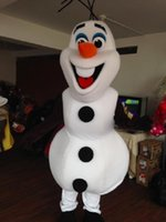 Cheap Frozen Mascot Costumes Best olaf mascot