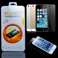 Wholesale For iphone Plus inch Premium Real Tempered Glass Film Screen Protector Explosion Proof Guard for iPhone6 S S C
