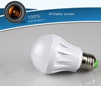 Wholesale 5pcs LED Globe Bulb W W W W LED Bulb Light E27 B22 Led Lamp White Warm White SMD Led Light Globe Bulb Light V