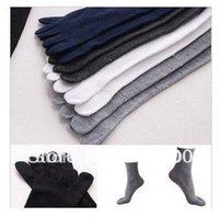 cotton five toe socks - C022 Pairs Colors Men s Cotton Five Fingers Toe Socks fingers socks Stockings Free Ship