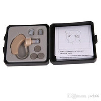 Wholesale New Tone Hearing Aids Aid Behind The Ear Sound Amplifier Sound Adjustable Kit