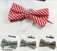 Wholesale New Arrival Polyester Skinny Female Ties Butterfly Tie Plaid Tie Plain Bowtie Women Men s Elastic Ties Cravat Bowtie For Wedding
