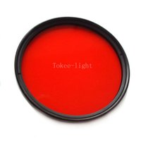 Wholesale 67mm M67 Full Color Red Filter DIVE for Camera Lens Conversion with thread mount