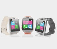 Wholesale Best wearable GV08 smart watch phone with Mp spy camera quot touch screen bluetooth wristwatch for iPhone Samsung HTC Android Phone
