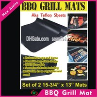 Wholesale BBQ grill mat high quality hot selling item mats per pack