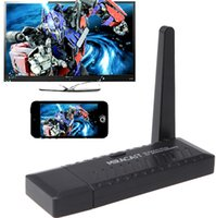Wholesale High Quality Miracast Dongle HDMI P TV Stick DLNA Airplay WiFi Display Receiver for Mobile Tablet PC DHL ZKT