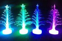 fiber optic tree - Colorful LED Fiber Optic Nightlight Christmas Tree for Holiday decoration