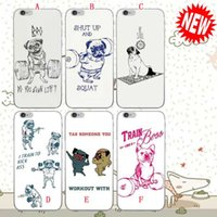 bass hard case - Dog Hard PC case Shut UP and squat Be still I Train to kick bass Tag Someone You Workout With For Iphone S Plus S skin Luxury