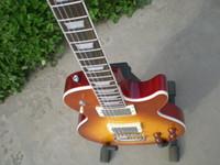 pul - Envío gratis China gbson color amarillo ls chino pul lp guitarra eléctrica estándar