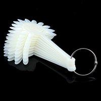 best sales practices - Best Sale Fan Style Nail Art Tips Display Practice Wheel Tool