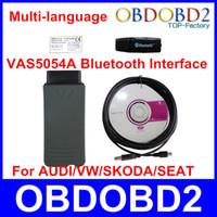 Wholesale 2014 V19 VAS Bluetooth VAS5054a Diagnostic Tool VAS a With Multi language VAS5054 For VW Skoda Seat Bentley