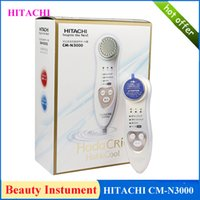 facial massager - HITACHI CM N3000 Upgraded version from CM N2000 Hada Crie Cool Facial Moisturizer Massager Cleansing tool beauty equipment DHL free