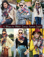 Wholesale Details about Lady Women Blanket Oversized Tartan Fringed Scarf Wrap Shawl Plaid Cozy Checked Pashmina