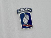 airborne brigade - 2016 New American Metal Badges Militaire Medailles German Cap Insignia Army Usarmy rd Airborne Brigade Metal Badge Brooch