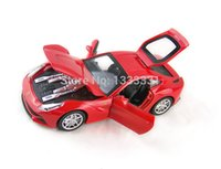 antique toy race cars - 2015 discast jiaye F12 Pull Back Acousto optic Alloy Antique racing Cars Model children toy in gift box COLORS
