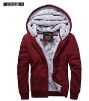 Wholesale Hot winter new men s long sleeved Fashion Winter Hoodies Mens Warm Long sleeve Turtleneck Hoodies Sweatshirts basketball hoodies