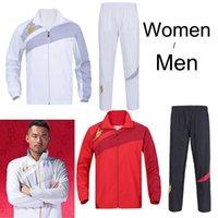 Wholesale Japan YY Lin Dan badminton Jacket Pant Male Femalebadmiton Pant badminton sports uniform Badminton coat