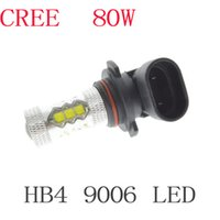 Wholesale 2x HB4 W Cree LED Car Reverse Fog Head Light Auto Led Lamp Bulb Tail Turn Backup White DRL car Light Source