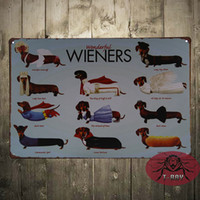 aluminum poster frames - Christmas supplies wonderful WIENERS Vintage wall poster table decor picture frame for Home Bar Decor
