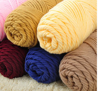wholesale cotton scarves - new Cotton thread hand knitted knitting yarn thick yarn scarf yarn milk cotton yarn mm needle piece g pieces