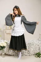 anime costume shop - Love Live Cos September SR Coffee Shop Workers And Maid Cosplay Sonoda Haimi Cosplay Costume J201