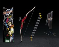 Wholesale Cosplay Simulation Toys Bow and Arrow shooting Toys for Child s Outdoor Fun Sport toy kids Costume party best gift