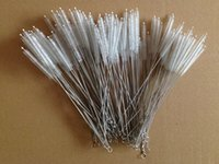 Wholesale inch cm Stainless stell straw brush Bottle Cleaning Brushes Round Pipe Cleaning Wire Brush