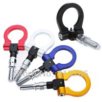 Wholesale Car Universal Racing Tow Hook For BMW E36 European Car Auto Trailer Ring Tow Hooks Blue Red Gold Silver