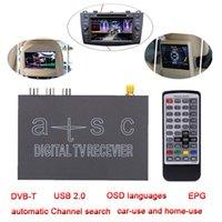 used tv - ATSC NTSC Mini Decoding Set Up TV Box Car Digital TV Box Mobile Analog TV Tuner Channel Receiver USB2 RCA MPEG MPG MOV All use K2320