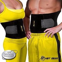 ab fitness belt - Unisex Waist Trimmer Ab Belt for Weight Loss by HBT Gear Fitness w Bonus Healthy Sweat