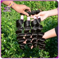 extension natural hair curl - Best selling a discount hair loose wave human hair extensions bundles inch unprocessed loose curls malaysian loose wavy for sale