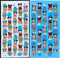 big bath towels - 60 cm New Coming Tsum Cartoon cotton terry towels Tsum Cotton Big Towel hand towel many designs mix tsum Mouse towel sent