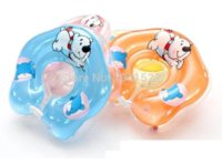 Wholesale Adjustable New Baby Aids Infant Swimming Neck Inflatable Tube Float Safety Ring baby shower thank you