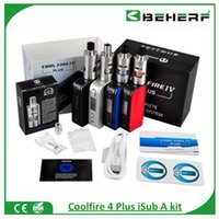 apex stock - Authentic Coolfire plus iSub Apex Tank starter kit in stock black silver blue red coolfire plus vs isub Apex tank hot items