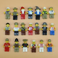 Wholesale 2016 High Quality of Minifigures Figures cm Building Blocks Educational Toy For Kids DIY Bricks Toys Action Figures
